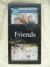 """NEW Friends Photo Frame Holds 2 4"""" x 6"""" Photos"""