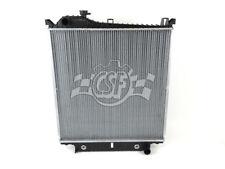 Radiator-1 Row Plastic Tank Aluminum Core CSF 3568