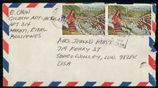 Mayfairstamps Philippines 1970 to Sedro Woollem Woman Collecting Vegetables Cove