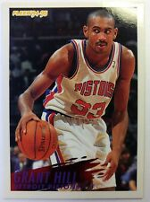 Fleer Rookie Grant Hill Basketball Trading Cards For Sale Ebay