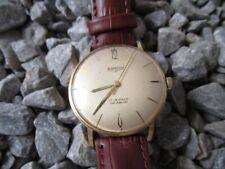 ANCRA Vintage Uhr vergoldet 34 mm Handaufzug 60er Jahre 1960s