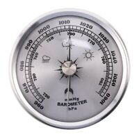 für Haus Manometer Wetter Station Metall Wand Behang Barometer AtmosphäRischN2C5