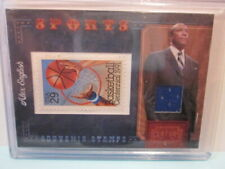 2010 Panini Century SPORTS Souvenir Stamp Swatch ALEX ENGLISH /250!