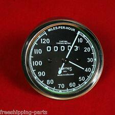 Speedometer Royal Enfield Motorcycle 0-120 MPH Black M18X1.5 THREAD