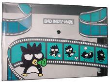 """Nib Sanrio Bad Badtz Maru Xo A4 Size Clear File Folder (W 13"""" x L 9.5"""")"""