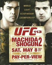 Lyoto Machida & Mauricio Rua UFC 113 8x10 Photo Picture Poster Dragon v Shogun 2