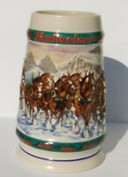 1993 Budweiser Holiday Stein CS192 Christmas mug Anheuser-Busch Special Delivery