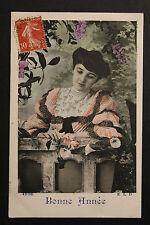 Carte postale ancienne CPA Fantaisie Heureuse Année