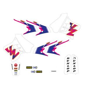 Kit Autocollant Graphiques Yamaha YZ 125 250 1993 1994 1995 Complet Team '93 USA