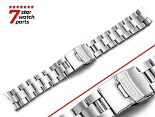 For SEIKO Watch 7002 SILVER Metal Steel Watch Strap Band Bracelet Clasp 20 22mm