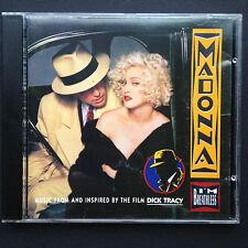 Madonna I'm Breathless Vogue DICK TRACY Film Soundtrack OST CD '90 Warren Beatty