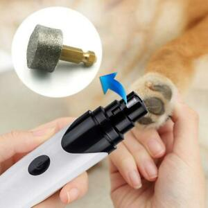 Dog Pet Nail Grinder Machine Head Rechargeable Cat Nails Clipper Trimmer Wheel