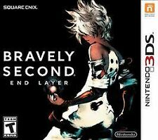Bravely Second End Layer (Nintendo 3DS) GAME CASE & MANUAL Brand New sealed