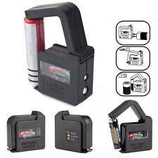 9V AA AAA CD 1.5V 9V Universal Digital LCD Battery Checker Volt Tester Indicator