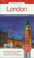 Reiseführer STADTPLAN LONDON Entspannt entdecken mit Tipps + Terminen 2016/2017