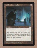 MTG - Well of Knowledge - Weatherlight - Rare EX/NM - Single Card