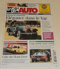 LA VIE DE L'AUTO N°1142 - Septembre 2004 : Elégance dans le Var - Triplé PORSCHE