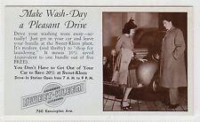 SWEET-KLEEN LAUNDRY, BUFFALO: NY USA advertising postcard (C5093).