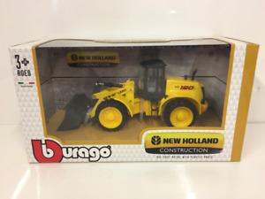 New Holland Construction W190C 1:50 Scale Burago 32081
