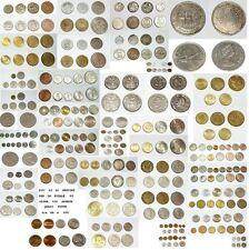MONETE VECCHIE ANTICHE EUROPA MONDO WORLD COINS STOCK BB+ e SPL+  1896 to 1988