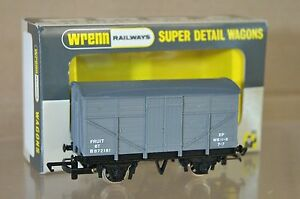 WRENN W5083A BR GREY FRUIT VAN WAGON B872181 MINT BOXED RARE ni