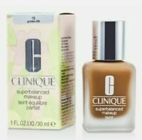 NEW Clinique Superbalanced Makeup 15 Golden (D-G)1 FL. 0Z / 30ML