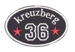 "Patch Aufnäher Aufnäher "" KREUZBERG 36 "" BERLIN BEZIRK"
