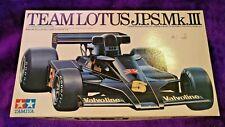 Tamiya 1:20 Team Lotus J.P.S. Mk.III Racing Car Model Kit #20004 *SEALED BAGS*