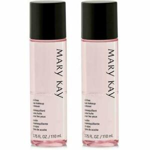 Mary Kay Oil-Free Eye Makeup Remover  factory fresh 2-pack/desmaquillante