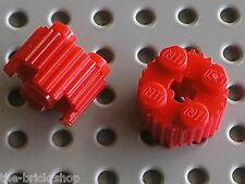 2 x LEGO Red Brick Round with Grille ref 92947 / set 70505 70006 70008 3368 4645