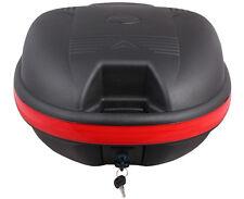 Universal Matte Black Detachable Motorcycle Dual Sport Luggage Trunk Top Case