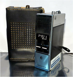 Vintage 60's / 70's Steintron T-823, SOLID STATE MINIMEMO,TAPE RECORDER