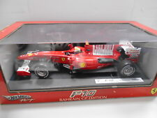 HWF10M by HOT WHEELS FERRARI F10 F. MASSA BAHRAIN GP EDITION #7 1:18