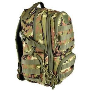 Zaino tattico militare Day Bagpack Vegetato Italiano 50 litri Royal