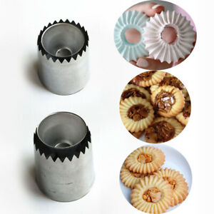 Ice Cream Icing Piping Nozzles Pastry Making Ring Cookies Mold Cake Decorating