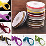 "10yards 3/8"" Flocked Velvet Ribbon Bows Sewing Trim Craft Headband Lot Colors"