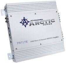 Pyramid PB717X Amplifier 1000Watt 2 Channel;Arctic Series