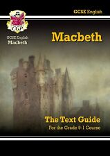 Grade 9-1 GCSE English Shakespeare Text & Revision Guide- Macbeth 14-16 years