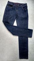 NEXT Skinny Jeans Size 8R  30L Ladies Womens Blue Stretch Denim