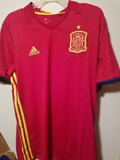 Adidas Spain Home Soccer Jersey 2016 / US Size - L