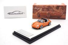 #TP911S-07 - Timothy & Pierre Porsche 911 Targa - Singer - Orange - 1:64
