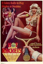 HOT RACKETS Movie POSTER 27x40 Candida Royale Desiree Cousteau Jon Martin Rhonda
