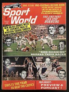 Dec 1962 Sport World Magazine Bob Cousey Bobby Hull Wilt Chamberlain