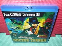 DOCTOR TERROR - CUSHING - CHRISTOPHER LEE -  BLU-RAY