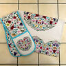 Ulster Weavers Love Heart Melody Kitchen Cotton Hand Tea Towel Double Oven Glove
