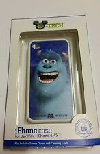 DISNEY PARKS D-TECH MONSTERS INC UNIVERSITY  SULLEY White iPHONE 4S CASE Blue