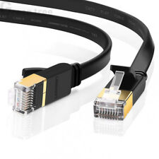 Ugreen STP CAT 7 Flat Gigabit Ethernet Cable RJ45 LAN Network Patch Cord for PC