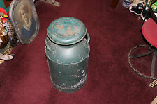 Antique Lyndonville Cry Deary Bros. Vermont Milk Can Container-VLarge-Country