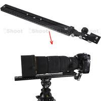 Teleobjektiv Halter Neiger Kamera Platte Schnellwechselplatte für Stativschelle