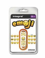 Integral USB 2.0 Expression Flash Drive - 32GB Emoji INFD32GBXPREMOJI